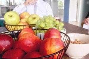 sadje v pisarni dostava sadja v podjetje