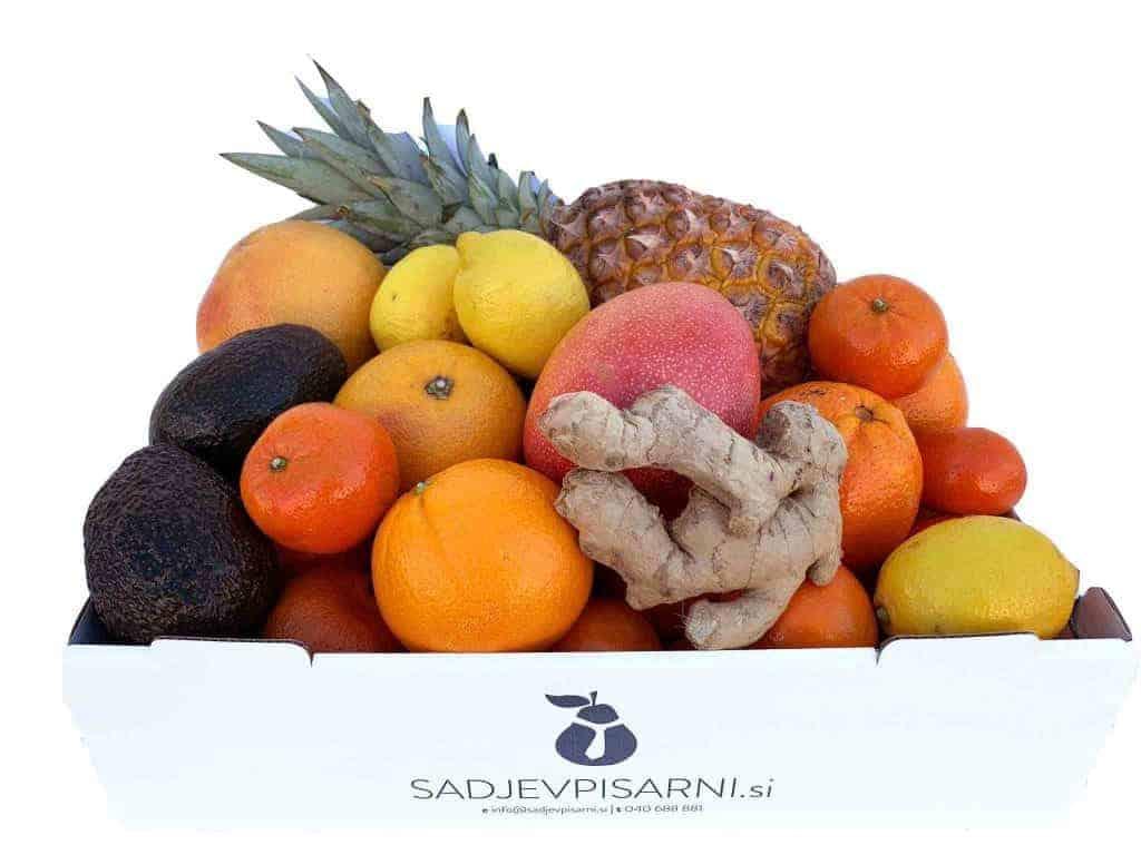 tropsko sadje in zimsko sadje