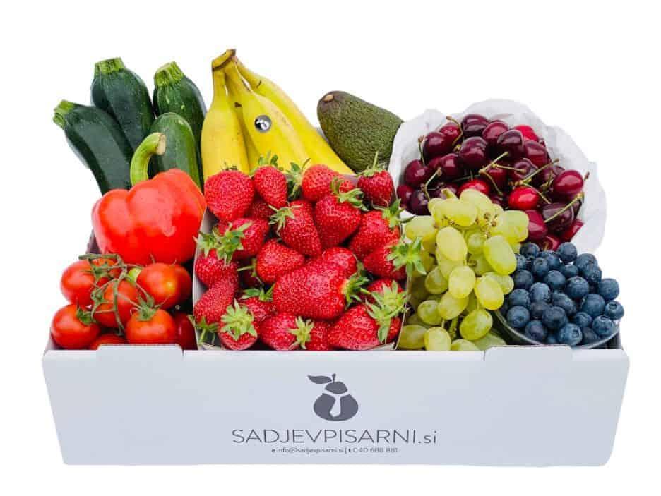Zabojček sadja in zelenjave
